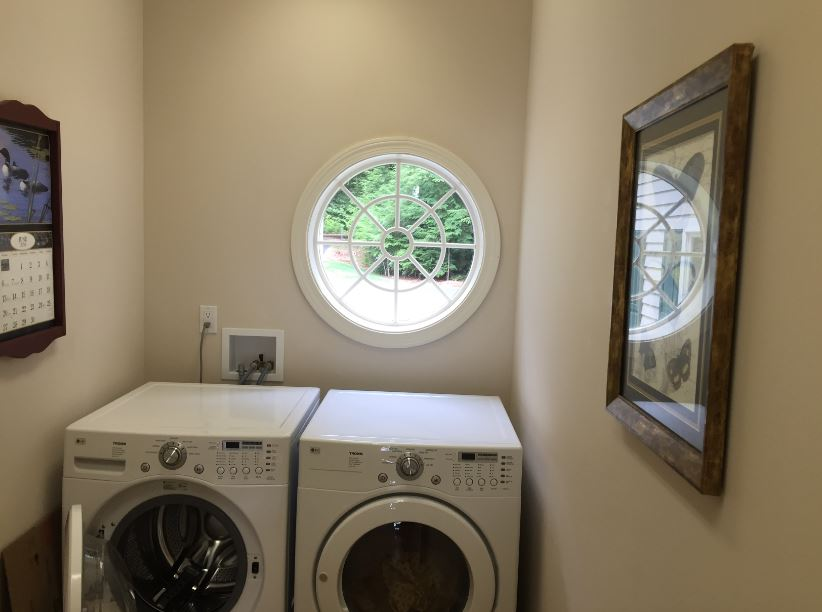 Laundry room conversion