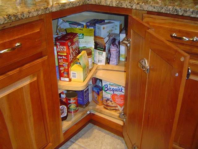 Lazy Susan Corner Kitchen Cabinet Assembly. - ymnawhitco29's soup