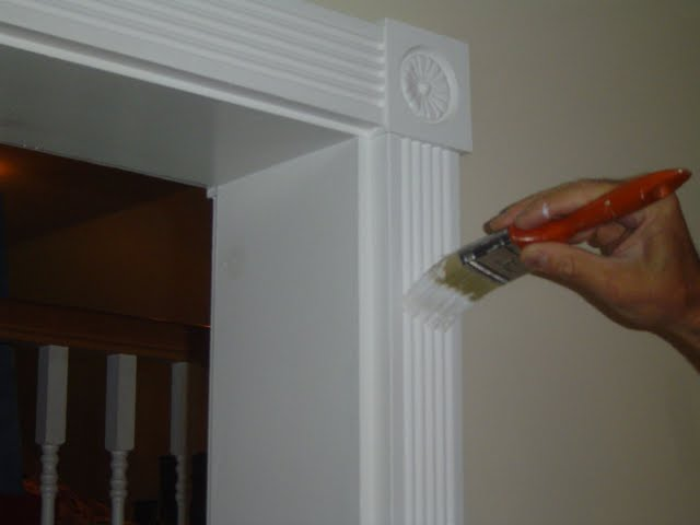Interior Wood Trim Painting