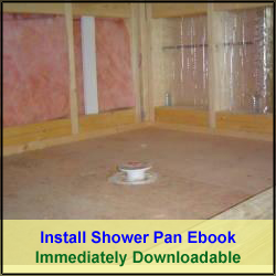 How to Install a Shower Pan Ebook