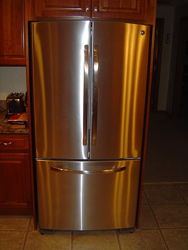 A stainless steel refrigerator could make or brake selling your home.
