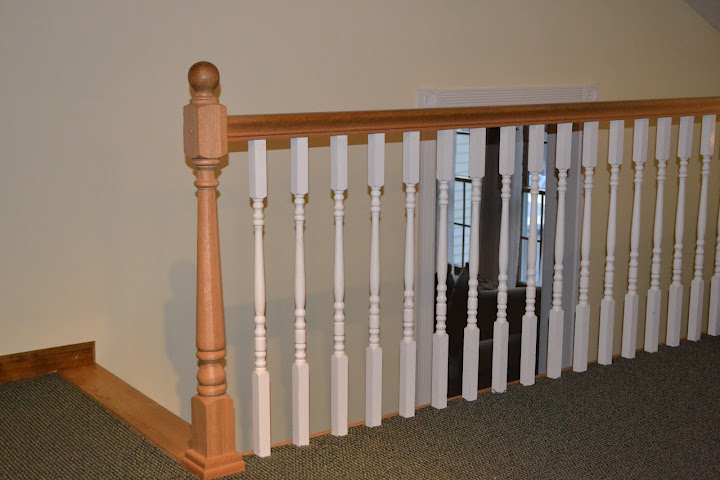 Build wood handrail ~ New Design Woodworking