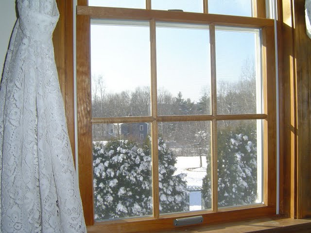 Here is an example of the popular double hung window style.