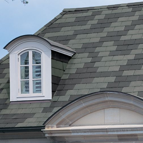 Synthetic slate roofing shingles for Synthetic roofing materials